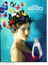 PUBLICITE ADVERTISING 086  2012  Madly eau toilette femme Kenzo