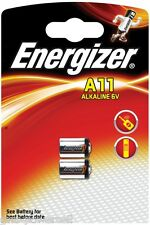 2 x Energizer A11 V11A V11 A - im Blister & OVP 6V NEU - L1016 A11 MN11-