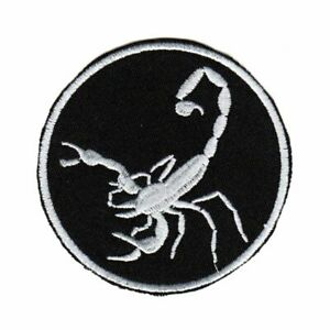 Tactical Morale Army Biker Motorcycle Patch Scorpio Scorpion