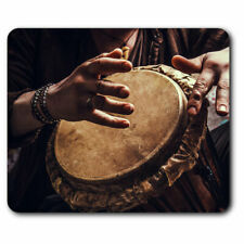 Computer Mouse Mat - Djembe Drum Music Africa Fun Office Gift #2644