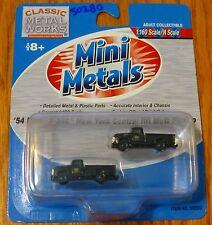 Classic Metal Works #50280 Mini Metals 1954 Ford F-350 Pickup Truck -- New York