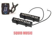 SEYMOUR DUNCAN SJ5-3s 5-string Quarter-Pound Bass Pickup Set ( GUITAR TUNER )