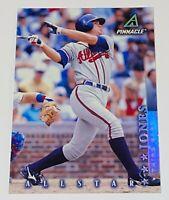 1998 Pinnacle Allstar Jumbo Chipper Jones #23 MLB Atlanta Braves Baseball Card
