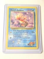 MISTY'S GOLDEEN - Gym Heroes Set - 85/132 - Common - Pokemon Card - NM