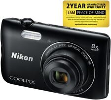 NEW Nikon VNA961AA Coolpix A300 Black Digital Camera