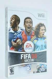 NINTENDO WII ** Fifa Soccer 08 ** BRAND NEW FACTORY SEALED SHIP SAME DAY