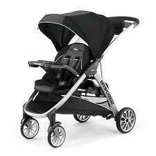 Chicco Bravo For 2 Two Passenger Stroller in Iron New! Free Shipping! BravoFor2