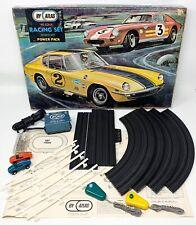 Vintage 1960's Atlas HO Scale Racing Set No.1000