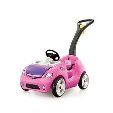 Girls Riding Push Car Toy Toys Big Wheel Pink Walker Baby Toddler Kids Outdoor