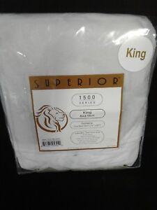 Superior 1500 Series Microfiber  Bed Skirt King Sage/Solid