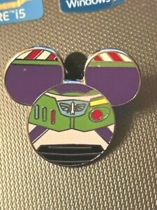 DISNEY MICKEY MOUSE ICON TOY STORY BUZZ LIGHTYEAR MYSTERY PIN