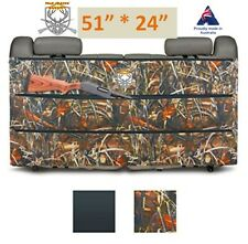 Truck Gun Rack Back Seat Rifle Carrier SUV Organizer Case Holder Hunting Holster