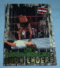 Lita Signed 2001 Fleer Raw is War WWF WWE Card #99 Autograph Pro Wrestling Diva