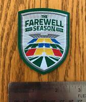 Saskatchewan Roughriders Farewell Season Logo WOVEN PATCH Taylor Field
