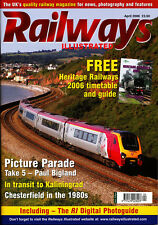 RAILWAYS ILLUSTRATED 4/04 APR 2006 Pictorial,Chesterfield,Kaliningrad,Heritage