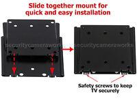 """Tilt Swivel/ Flat TV Wall Mount Bracket for Samsung Vizio 19 22 24 28/32 40"""" LED"""