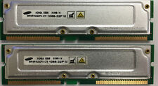 1GB 2 x 512MB Rambus 1066-32 Memory RAM for Dell 8250 8200 8100 (RDRAM RIMM)