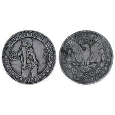 1Pc Pièce de monnaie commémorative de 1921, imitation argent morgan collection