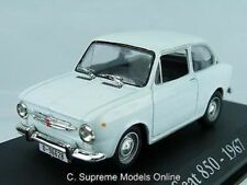 SEAT 850 1967 1/43RD SIZE MODEL CAR RBA COLLECTIBLES PACKED TYPE GDR Y0675J^*^