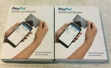 PayPal Mobile Card Reader Easy Fast Secure Sealed Lot 2 w/ Free Shipping