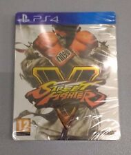 Street Fighter V Limited Steelbook Edition PS4-neuf scellé PAL uk