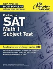 Cracking the SAT Math 1 Subject Test by Princeton Review (2014, Paperback)