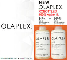 REBOTTLED Olaplex No.4 & 5 duo Bond Maintenance Shampoo + Conditioner 250ml each