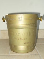 ancien seau champagne cooler CHRISTOFLE ice bucket bowl MORLANT 1930 CHRISTALBA