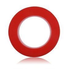 5m Length Double Sided Tape Red Self Adhesive Sticky Super Strong NEW 3mm