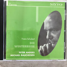 SCHUBERT:  Winterreise - Peter Anders / Raucheisen (IT CD Myto 982.HO14 / neu)