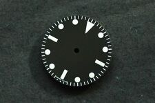 Plain Milsub Watch 27mm Dial for ETA 2824 / 2836 Movement w/o date White Lume