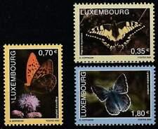 Luxemburg postfris 2005 MNH 1684-1686 - Vlinders / Butterflies