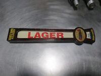 Cigar CIty Brewing Company Lager Keg Beer Tap Handle Tampa Florida Rare
