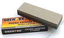 PIEDRA ASENTAR OREWORK 2 caras 150mm Oxido Aluminio 399235