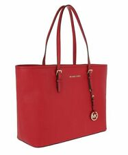 Michael Kors Tasche/Bag Jet Set Travel TZ  Tote Saffiano Bright Red NEU