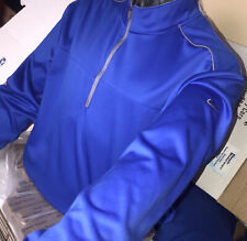 Nike Running Dry-Fit 1/4 Zip Pullover Heathered Blue, Men's Sz.Xxl ✅🔥