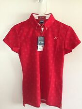 Yonex Tennis Shirt - Women's Medium - Red - NEW