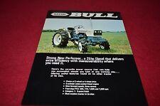 Satoh Bull Tractor Dealers Brochure YABE11