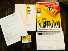 Vintage Lotus Screen Cam Multi media screen & sound utility for Windows S#3916C