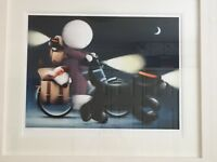 Doug Hyde framed Limited Edition print 'Sunday Riders'