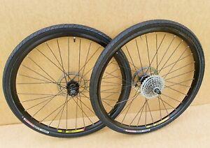 "Cannondale expert / Shimano M525 26"" Mountain Road Bike Wheels -Disc Brake Mavic"