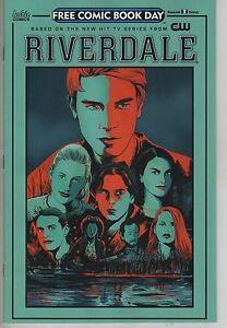 Riverdale 2017 FCBD Free Comic Book Day comic book Archie CW TV show series