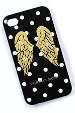VICTORIA'S SECRET Sparkling Angel Wings Black Polka Dot Iphone 4/4S Case Cover