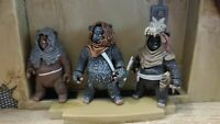 Star Wars Ewok Lot of 3 Romba, Graak, and Leektar