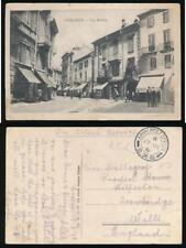 GREECE 1918 SALONICA APO SX8 SUMMER HILL CAMP CENSOR 197 PPC ITALY VOGHERA