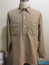 POST O'ALLS Large SUEDED and LINED Dbl Pocket POPOVER Work Shirt POST OVERALLS