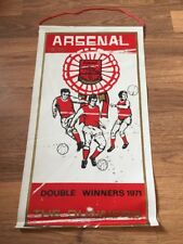Pennant: Arsenal 1970/71 Double Winners Number 13