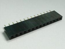 4x 14-Pin Female PCB Header, Single Row, 2.54mm - USA Seller - Free Shipping