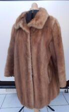 e348719521be52 Pelzjacke Damen Nerz hellbraun Kurzmantel Jacke Vintage