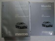 1998 Mazda Millenia Service Repair Shop Workshop Manual Set Oem Factory W Ewd